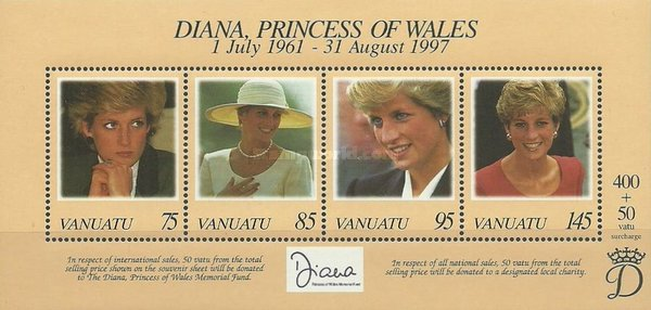 [Diana Spencer, Princess of Wales Commemoration -, type ]