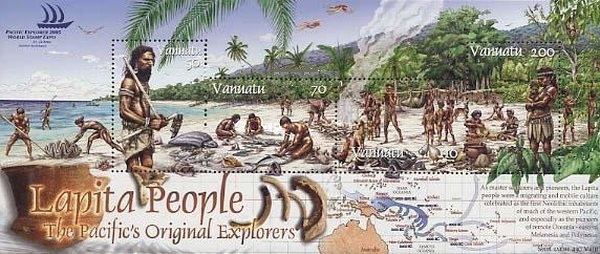 [Pacific Explorer World Stamp Exhibition, Sydney - Lapita People, type ]