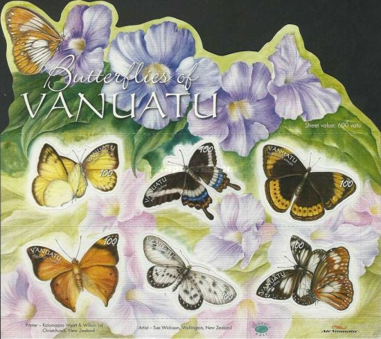 [Butterflies - Self Adhesive Stamps, type ]
