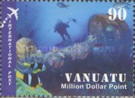 [Diving Spots - Million Dollar point - Airmail, type ABH]