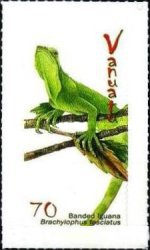 [Bended Iguana - Self Adhesive Stamps, type ABV]