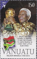 [The 1st Anniversary of the Death of Nelson Mandela, 1918-2013, type AIY]