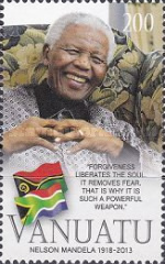 [The 1st Anniversary of the Death of Nelson Mandela, 1918-2013, type AIZ]