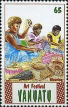 [The 2nd Anniversary of the National Art Festival, Luganville, type JX]