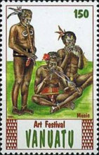 [The 2nd Anniversary of the National Art Festival, Luganville, type JZ]