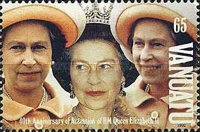 [The 40th Anniversary of Queen Elizabeth II's Accession, type KS]