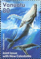 [Whales - Joint Issue with New Caledonia, Typ UP]