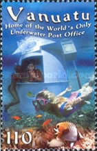 [Underwater Post Office, Hideaway Island, type XA]