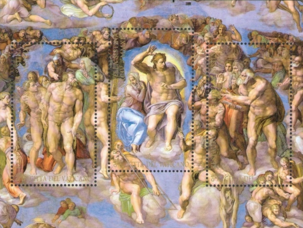 [The 25th Anniversary of the Restoration of the Sistine Chapel, Typ ]