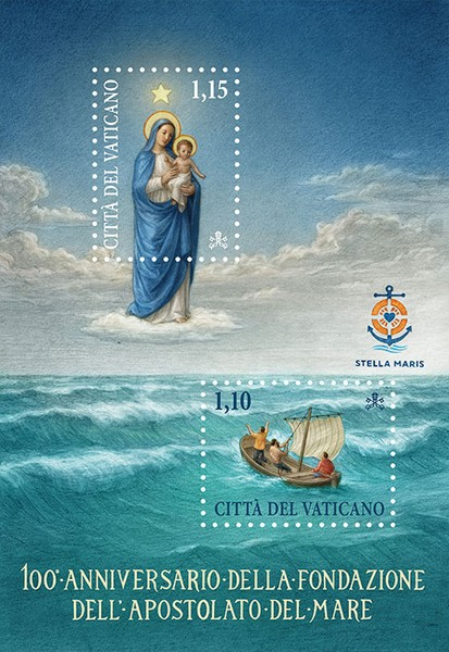 [The 100th Anniversary of the Foundation of the Apostolate of the Sea, Typ ]