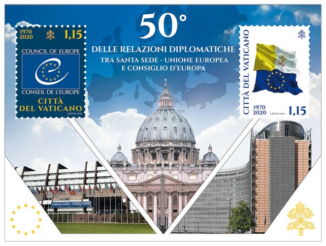[The 50th Anniversary of Diplomatic Relations with the European Union and the Council of Europe, type ]