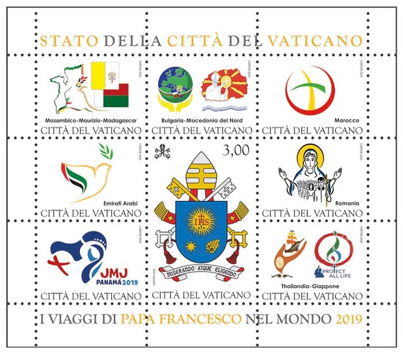 [The Journey of Pope Francis in the World 2019, type ]