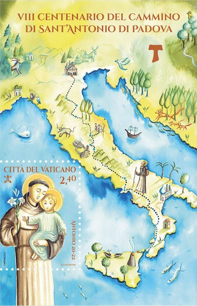 [The 800th Anniversary of the Way of St. Anthony of Padua, type ]
