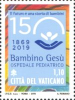 [The 150th Anniversary of the Bambino Gesù Hospital - Joint Issue with Italy, Typ BRK]