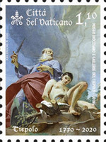 [The 250th Anniversary of the Death of Giambattista Tiepolo, 1696-1770, Typ BSI]