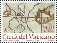 [EUROPA Stamps - Ancient Postal Routes, Typ BSM]