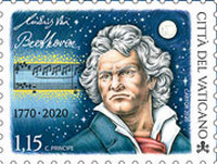 [The 250th Anniversary of the Birth of Ludwig van Beethoven, 1770-1827, type BSZ]