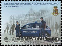 [The 75th Anniversary of the Vatican Public Security Inspectorate, type BTE]