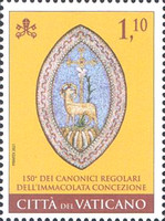 [The 150th Anniversary of the Congregation of Regular Canons of the Immaculate Conception, type BTM]