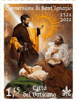 [The 500th Anniversary of the Conversion of St. Ignatius of Loyola, type BTP]