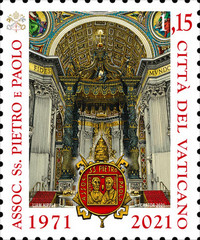 [The 50th Anniversary of the Association of the SS Peter and Paul, type BTV]