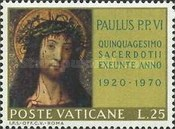 [The 50th Anniversary of the Ordination of Pope Paul VI, type LJ]
