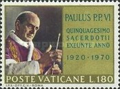 [The 50th Anniversary of the Ordination of Pope Paul VI, type LL]