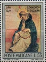 [The 800th Anniversary of the birth of Holy Dominikus, type MD]