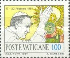 [The World journey of Pope John Paul II, Tip VY]