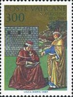 [The 1600th Anniversary of the Conversion and the Christianing of Sct. Augustus, type YA]