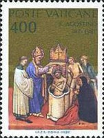 [The 1600th Anniversary of the Conversion and the Christianing of Sct. Augustus, type YB]