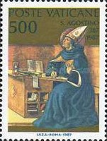 [The 1600th Anniversary of the Conversion and the Christianing of Sct. Augustus, type YC]