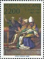 [The 1600th Anniversary of the Conversion and the Christianing of Sct. Augustus, type YD]