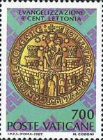 [The 800th Anniversary of the Introduction of Evangelism in Latvia, type YE]