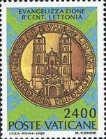[The 800th Anniversary of the Introduction of Evangelism in Latvia, type YF]