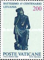 [The 600th Anniversary of Christening Lithuania, type YG]