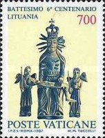 [The 600th Anniversary of Christening Lithuania, type YH]