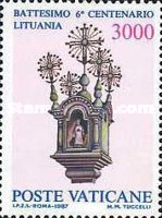 [The 600th Anniversary of Christening Lithuania, type YI]