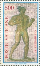 [Exhibition of Olympic Stamps, type YK]
