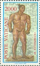 [Exhibition of Olympic Stamps, type YM]