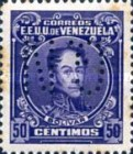 [Simon Bolivar Postage Stamps of 1939 Perforated