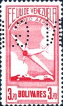 [Airmail - Local Motives Stamps of 1937 Perforated
