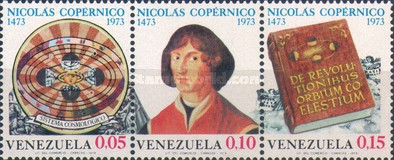 [The 500th Anniversary of the Birth of Nicolaus Copernicus, Astronomer, 1473-1543, type ]