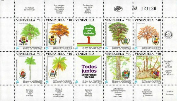 [The 20th Anniversary of Bank of Venezuela Foundation - Trees, type ]