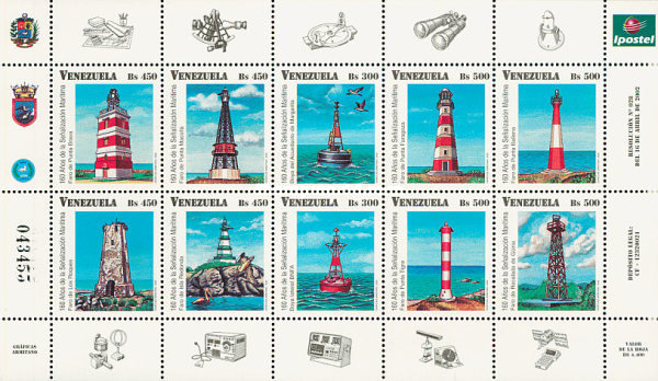[The 160th Anniversary of Maritime Signalling, type ]