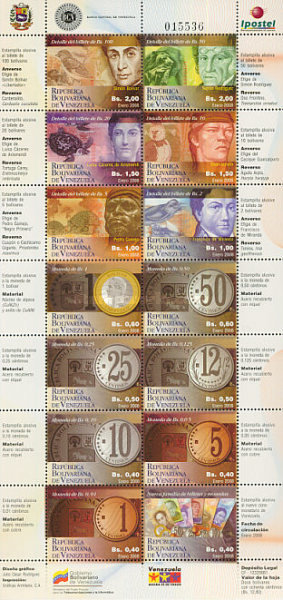 [Coins and Banknotes of the New Currency, type ]