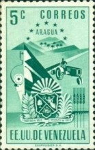 [Coat of Arms - State of Aragua, type AAT]
