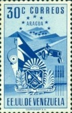 [Coat of Arms - State of Aragua, type AAT5]