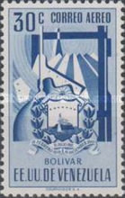 [Airmail - Coat of Arms - State of Bolivar, type ABJ11]