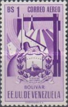 [Airmail - Coat of Arms - State of Bolivar, type ABJ14]